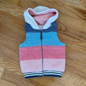 Hannah Andersson Girls 3T Vest